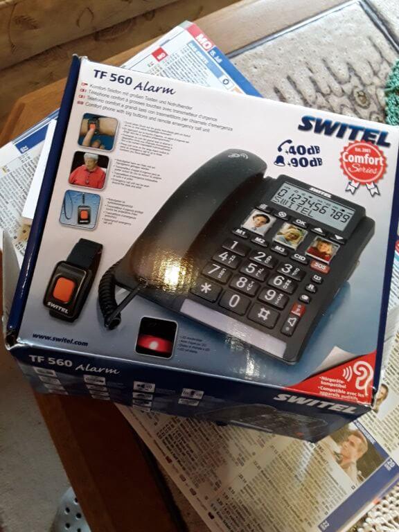 SWITEL TF 560 Alarm