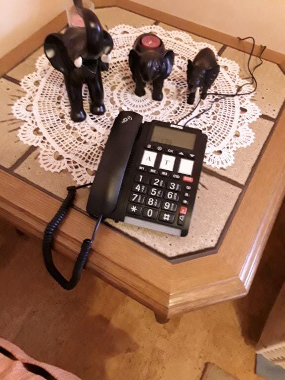 Senioren Telefon SWITEL TF 560 Alarm
